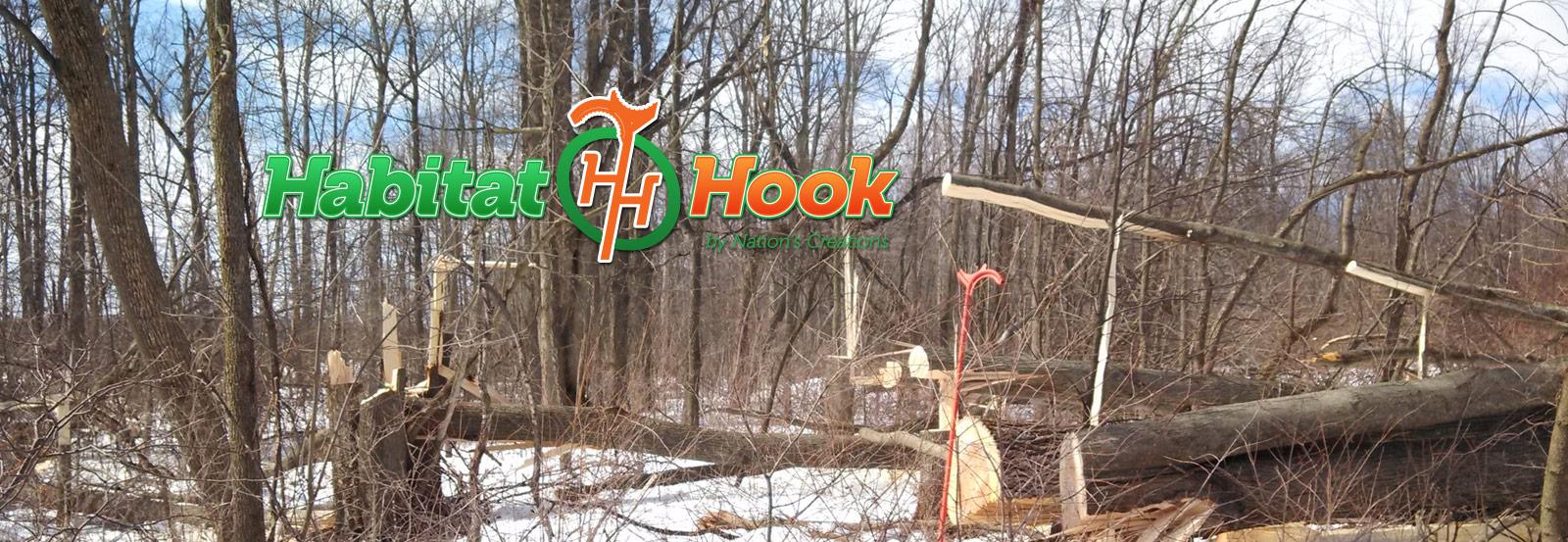 Hinge Cutting With The Habitat Hook